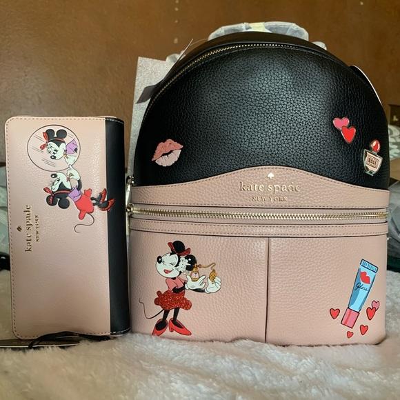 Kate Spade x Disney Backpack & Wallet